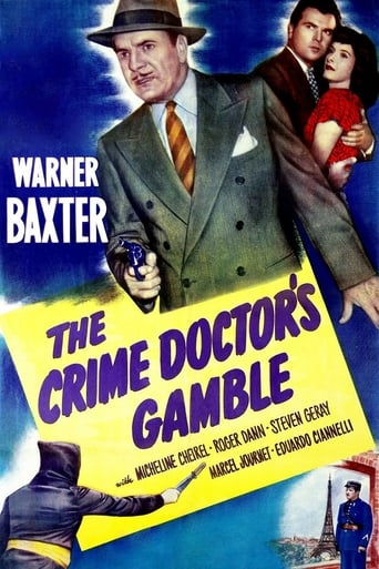 Poster of The Crime Doctor's Gamble
