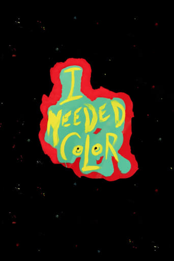 Poster of I Needed Color