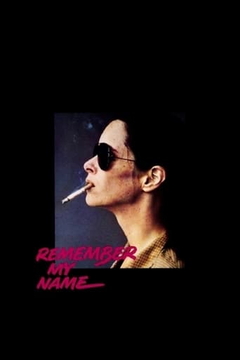 Remember My Name poster