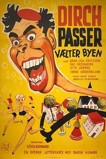Poster of Dirch Passer vælter byen