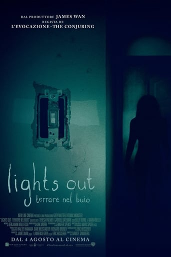 Poster of Lights Out - Terrore nel buio