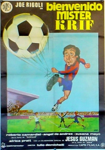 Poster of Bienvenido, Mister Krif