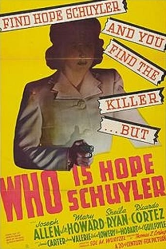 Poster of Who Is Hope Schuyler?