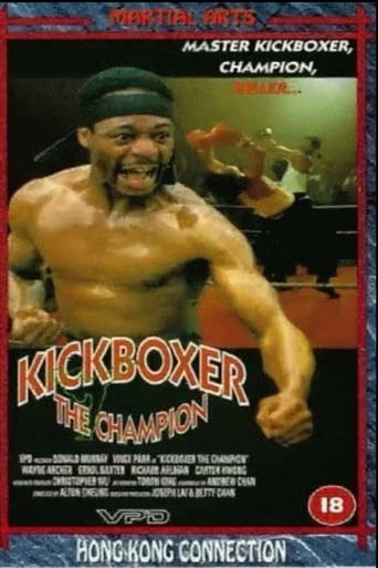 Poster of Kickboxer the Champion