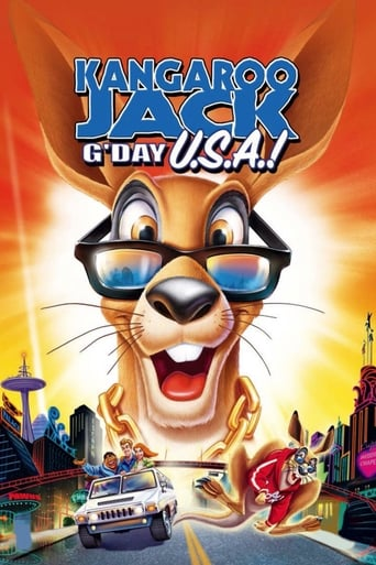 Kangaroo Jack: G'Day, U.S.A.! poster