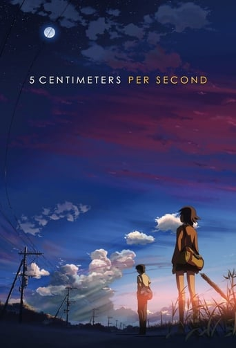 Poster of 5 Centimeters per Second