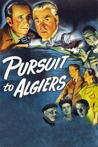 Poster of Pursuit to Algiers