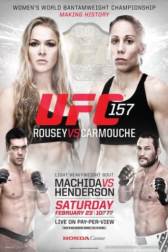 Poster of UFC 157: Rousey vs. Carmouche