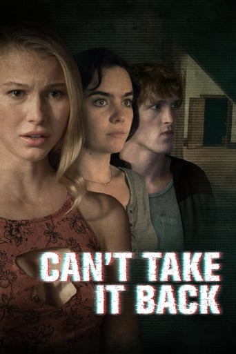 Poster of Can't Take It Back