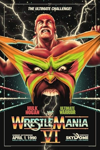 Poster of WWE WrestleMania VI