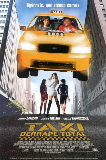 Poster of Taxi: Derrape total
