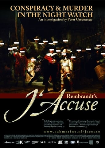 Poster of Rembrandt's J'Accuse...!
