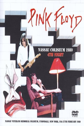 Poster of Pink Floyd:  The Wall - Nassau Coliseum
