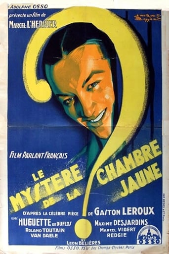 Poster of The Mystery of the Yellow Room