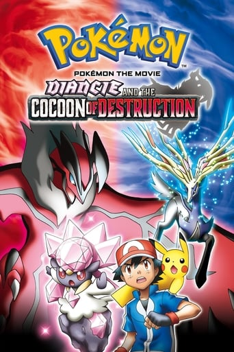 Poster of Pokémon the Movie: Diancie and the Cocoon of Destruction