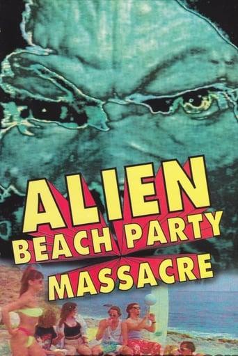 Poster of Alien Beach Party Massacre