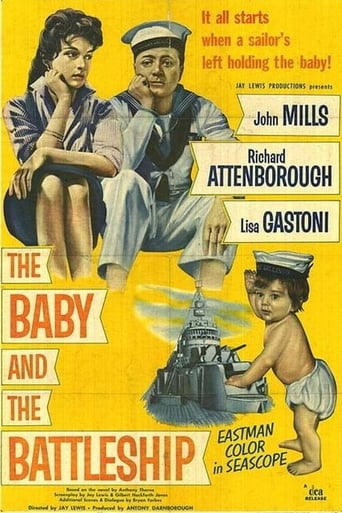 Poster of The Baby and the Battleship