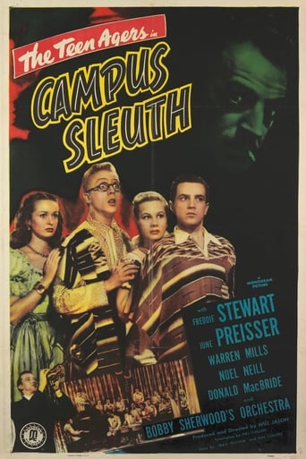 Poster of Campus Sleuth