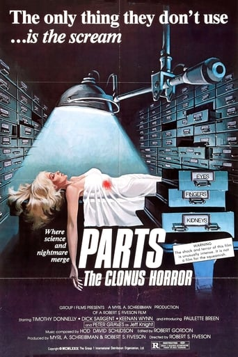 Poster of Parts: The Clonus Horror