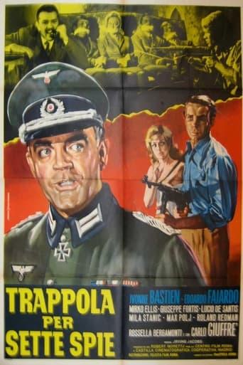 Poster of Trappola per sette spie
