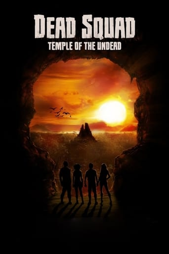 Poster of Dead Squad: Temple of the Undead