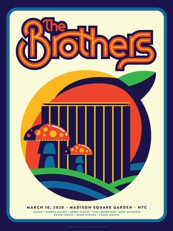 Poster of The Brothers - Madison Square Garden 3/10/2020