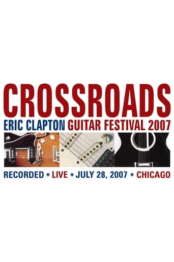 Poster of Eric Clapton's Crossroads Guitar Festival 2007