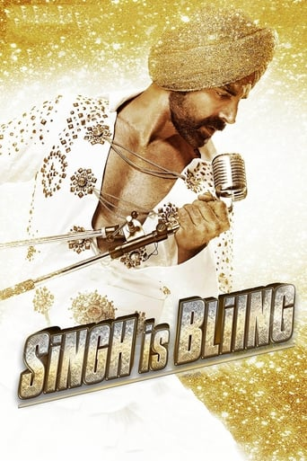 Poster of Singh Is Bliing