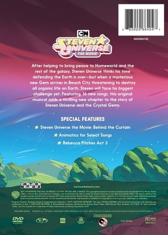 Poster of Behind the Curtain: The Making of Steven Universe: The Movie
