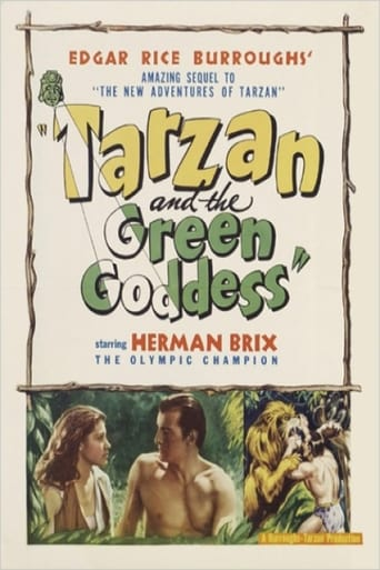 Poster of Tarzan and the Green Goddess