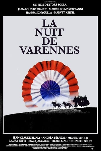 The Night of Varennes poster