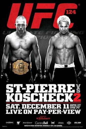 Poster of UFC 124: St-Pierre vs. Koscheck 2