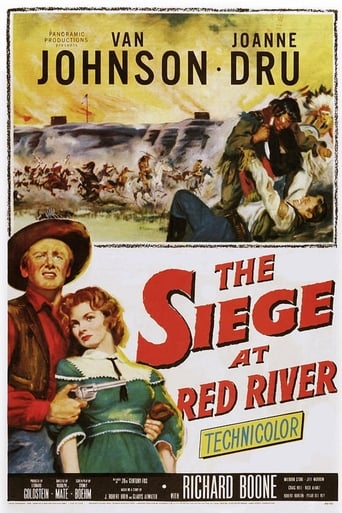 Poster of The Siege at Red River
