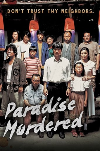 Poster of Paradise Murdered