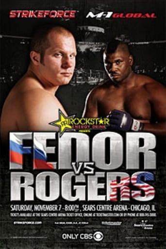 Poster of Strikeforce: Fedor vs. Rogers