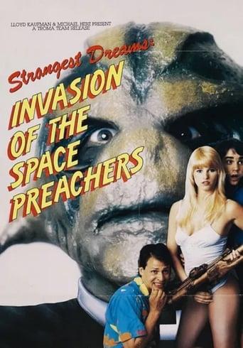 Poster of Invasion of the Space Preachers