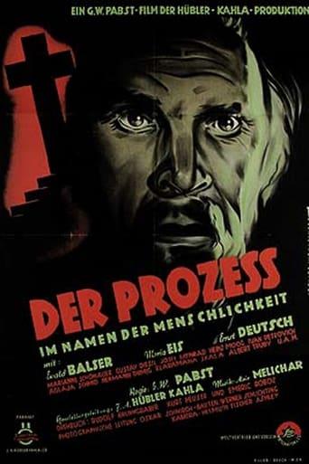 Poster of Der Prozeß