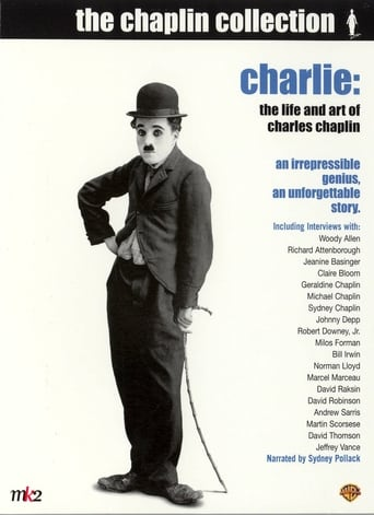 How old was Robert Downey Jr. in Charlie: The Life and Art of Charles Chaplin