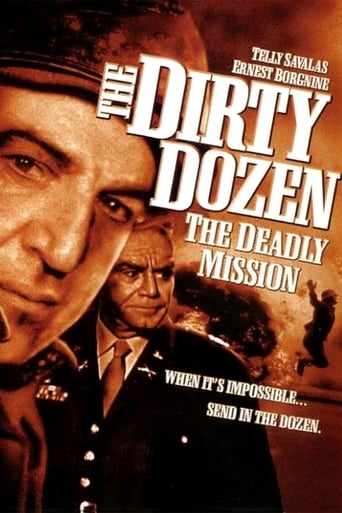 Poster of The Dirty Dozen: The Deadly Mission