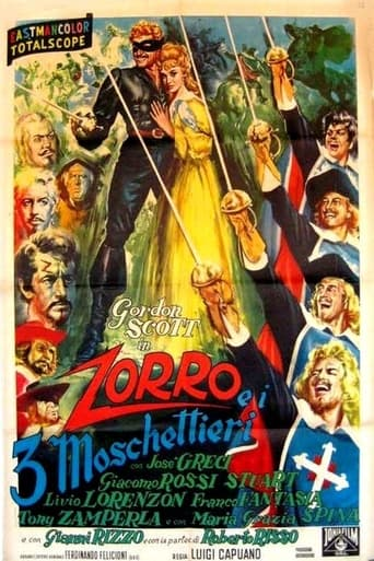 Poster of Mask of the Musketeers