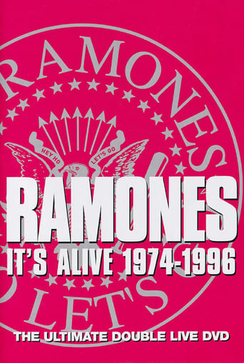 Poster of The Ramones: It's Alive 1974-1996