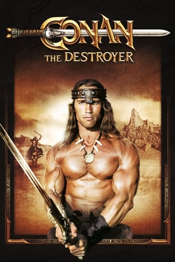 Poster of Conan the Destroyer