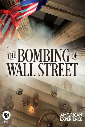 Poster of The Bombing of Wall Street