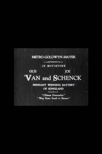 Poster of Van and Schenck 'The Pennant Winning Battery of Songland'