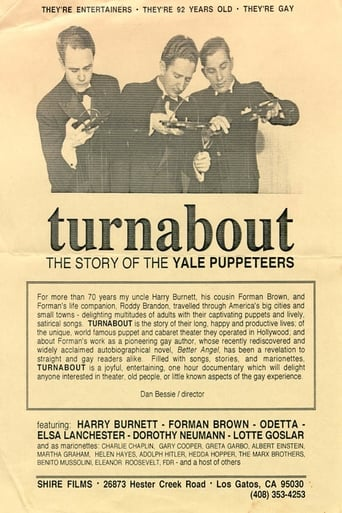 Poster of Turnabout: The Story of the Yale Puppeteers