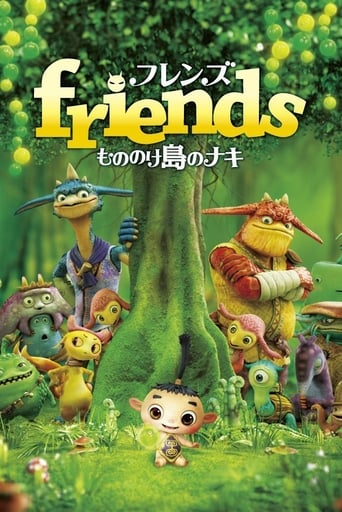 Poster of Friends: Naki on Monster Island