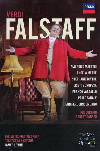 Poster of Verdi: Falstaff