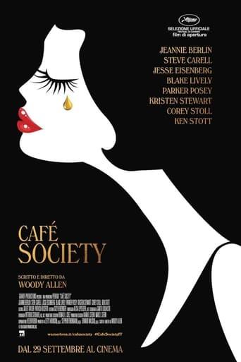 Poster of Café Society