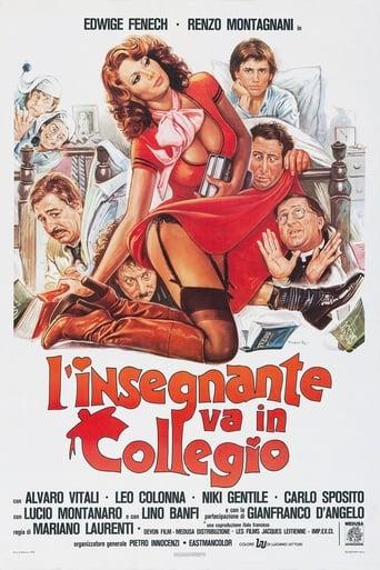 Poster of School Teacher in College