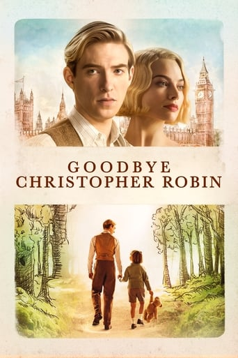 Poster of Goodbye Christopher Robin